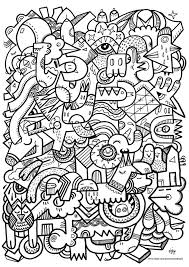 alien crazy adults coloring pages 25307 bestofcoloring com