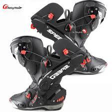 dirt bike motorcycle boots men s motorcycle boots racing speed motorbike shoes bota