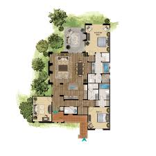 Grand Californian Suites Floor Plan The Villas At Terranea Private California Ocean View Villas