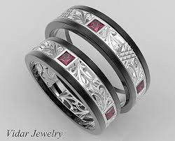 His And Hers Wedding Ring Sets by 56 Best His And Her Matching Wedding Bands Images On Pinterest