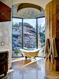 architecture fabulous relax room design with large glass wall and