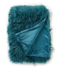 Faux Fur Electric Throw Blankets U0026 Decorative Throws Dillards