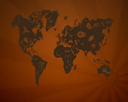 World Map Wallpaper by 15 Really Cool World Map Wallpapers Knowtex