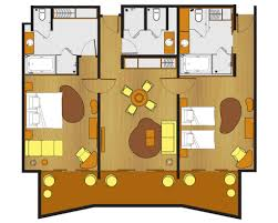 Hotel Suite Floor Plan Two Bed Room Suite Pullman Bali Legian Nirwana