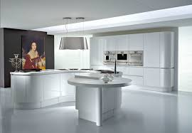 modern kitchen island ideas kitchen design sleek modern kitchen curved island ideas design