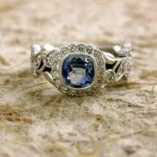 light blue sapphire engagement rings light blue sapphire engagement ring in 14k white gold with