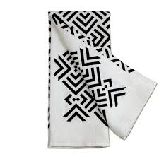 modern kitchen towels zadar tea towel modern geometric home decor savannah hayes