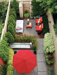 Small Backyard Landscaping Lovable Gardens For Small Backyards Before Long And Narrow Garden