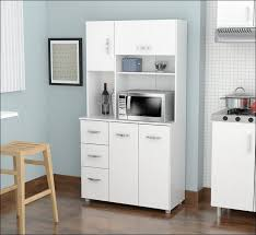 kitchen pantry cabinet with microwave shelf microwave carts and