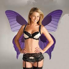 Halloween Costume Angel Wings Aliexpress Buy Butterfly Halloween Costumes Fashion Show