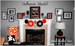 Halloween Room Decoration - decorating ideas excellent accessories for fireplace design and