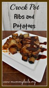 crock pot ribs and potatoes u2013 serves 6 baby back ribs u20224