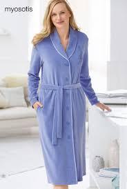 robe de chambre en velours robe de chambre velours et biais satin peignoirs damart belgique