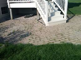 Dry Laid Bluestone Patio by Brick Pavers Canton Plymouth Northville Ann Arbor Patio Patios