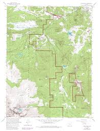 Estes Park Colorado Map by Hiking Emerald Mountain Rocky Mt National Park Colorado