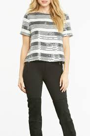cupcakes u0026 cashmere wexner sequin top from texas by le marche