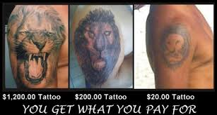 how much does a tattoo cost pricing up your ink
