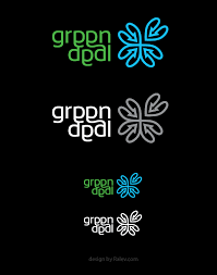 pattern brand logo logo design green deal ralev com brand design