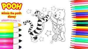 disney coloring book winnie the pooh tigger colouring pages