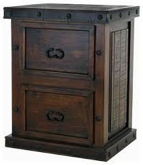 Rustic File Cabinet World Rustic Gran Hacienda File Cabinet Rustic Filing