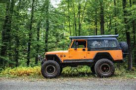 jeep scrambler lifted mighty sherpa cj 8 scrambler turned overland adventurer tread