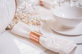 thanksgiving napkins paper diy modern copper and white thanksgiving napkins small price big