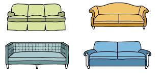 Sofa Without Back by 10 Sofa Styles Different Types Of Couches