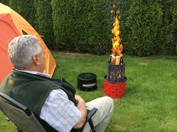 new product launch u2013 campfire in a can an innovative wood burning