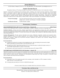 Inside Sales Resume Example by Salesperson Resume Summary