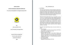 artikel format paper ilmiah contoh makalah karya ilmiah sistem keamanan jaringan komputer