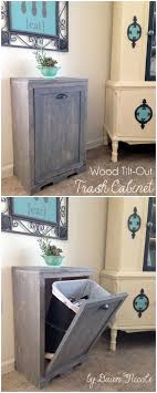 kitchen trash can ideas best 25 trash can ideas ideas on wooden laundry