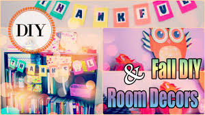 thanksgiving paper decorations thanksgiving fall diy room decor ideas 2015 youtube