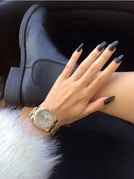 matte nails u2013 stylish elegant and trendy autumn nail design ideas