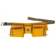 mcguire nicholas 11 pocket contractor apron yellow 1dm 428 2