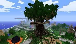 Big Tree Houses In Minecraft  Image Home Garden and Tree RtecxCom