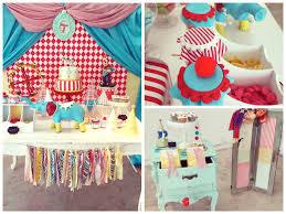 Circus Birthday Decorations Kara U0027s Party Ideas Vintage Circus Themed Birthday Party Planning