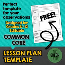 need to write an amazing lesson plan for your upcoming observation