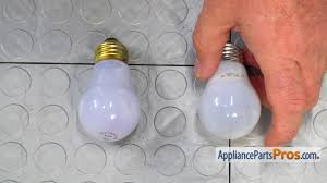 ge refrigerator light bulb replacement refrigerator light bulb part 241555401 how to replace youtube