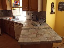 countertop ideas for kitchen best 25 tiled kitchen countertops ideas on diy