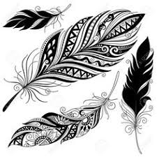 sbink tribal feather https tattoosk com tribal