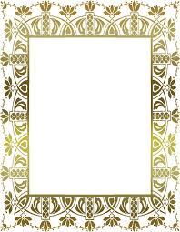 Decorative Portrait Frame Gold Vintage Frames
