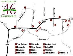 paso robles winery map paso robles winery map free paso robles wineries highway 46 east
