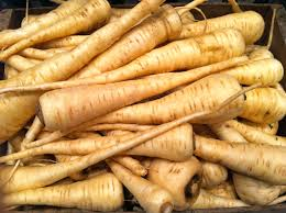 A Root Vegetable - fields of plenty parsnips