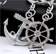 Popular Items For Love Anchors - couples anchor keychain suppliers best couples anchor keychain