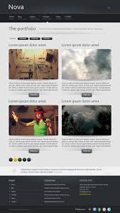 html template nova html template luis zuno free web resources