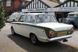 d mk1 ford cortina 1500 gt saloon original never restored never