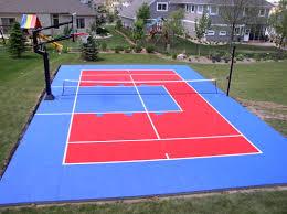 midsize backyard courts photos sportgames
