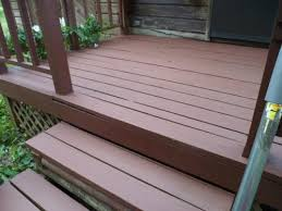 painted deck with behr deck over nailed it pinterest