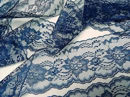 navy lace ribbon navy blue lace 10 yds 3 wide trim lace ribbon