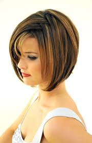 layered wedge haircut for women short layered bob haircut with bangs hairstyle for women man